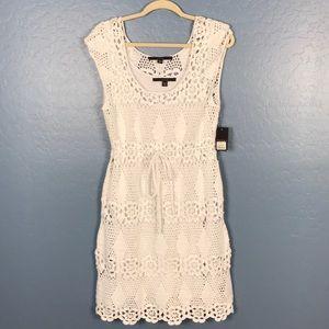 New Fever Crochet Dress Sleeveless Size M